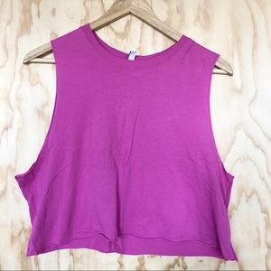H&M • Hot Pink Muscle Tank
